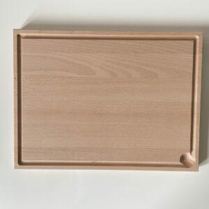Beuken houten snijplank met personalisatie